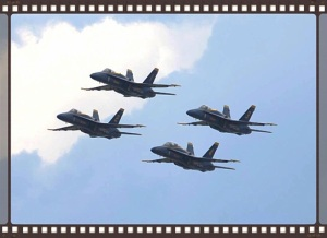 In the late summer of 2014 my partner and I went on a boat ride on Lake Washington and got a view of the Blue Angels at Seafair that was a totally different perspective.