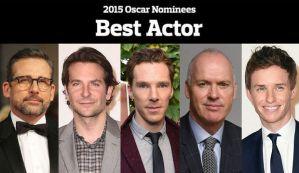 2015 Best Actor Nominees